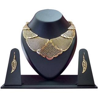 Jewelkraft Classy Golden Jewel Set