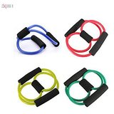 Adraxx Yoga Resistance Bands Tube Fitness Muscle Workout Exercise Tubes