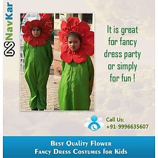 The Giggling Sun Flower Fancy Dress Costumes Medium Size (M)