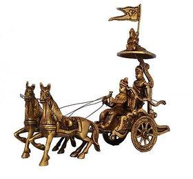 Chariot - Horse Cart - Arjun Rath At The Time Of Geeta Shar In Mahabharat War By Aakrati