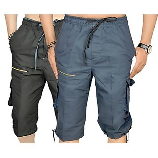 True Fashion Multicoloured Cargo Shorts Sacarccc02