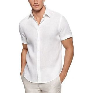 Classic Fit Formal Linen Combo (Shirt  Trouser Fabric)