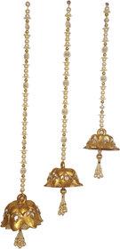 Decorative Fibre Wall/Door hanging Set of 3 All sizes (Lotus Shape)