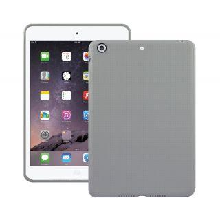 Premium Dotted Flexible Silicone Back Skin Case / Cover for Apple iPad Mini 1/ Apple iPad Mini 2/ Apple iPad Mini 3 - White