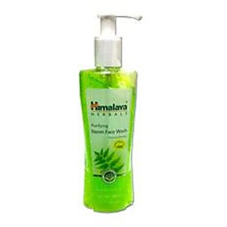 Himalaya Herbals Purifying Neem Face Wash 200ml (Pack of 2)