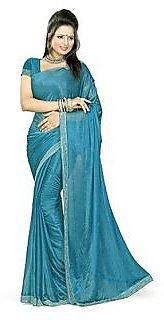 Sukuma Gold Silk Self Design Saree Without Blouse