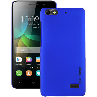 Huawei Honor 4C Back Cover / Case - Cool Mango Premium Rubberized Back Cover for Huawei Honor 4C - Perfect Blue