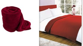 k decor set of 2 single ac blanket