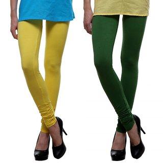 Lysa Collection Premium Super Strectch Women's  Leggings ( Pack of 2 )