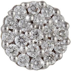 Vestern Vivian 18k Gold Stud Earring with 38 Diamond in 0.29 cts