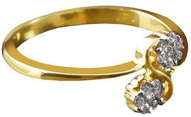 Vestern Vivian 18k Gold 14 Stone Diamond Ring in 0.16cts