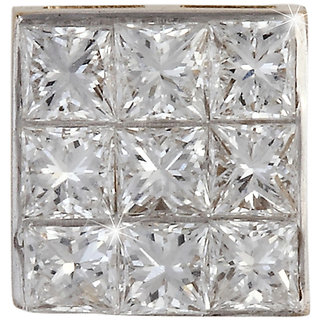 Vestern Vivian 18k Gold Stud Earring with 18 Diamond in 0.4 cts