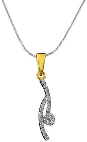 Vestern Vivian 18k Gold Earring and Pendant Set in 0.45cts