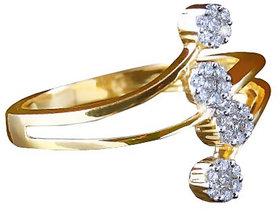 Vestern Vivian 18k Gold 28 Stone Diamond Ring in 0.18cts