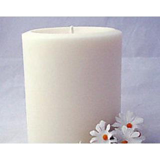 White Jasmine Aroma 1 Pillar Candle 2.75x 3