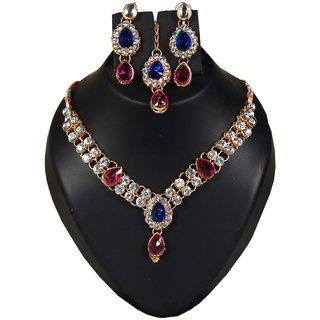 Designer diamond necklace set RC-6