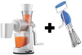 Fruit Juicer with Beater Mixer Hand Blender