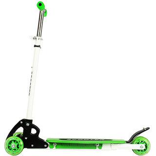 WonderKart Kids Innovative Three Wheel Scooter (Green)