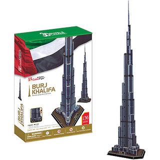 Cublicfun 3D Puzzle - Burj Khalifa
