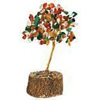 Astrology Goods Natural Gem Stone Tree Multi Colour 2680