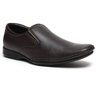 Franco Leone Brown Formal Shoes