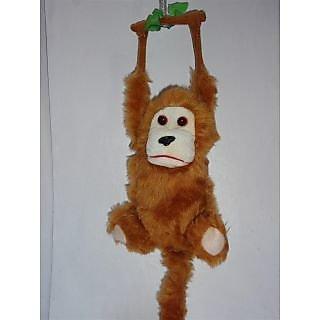 Hanging monkey, kid bday gift, soft toys, teddy bear