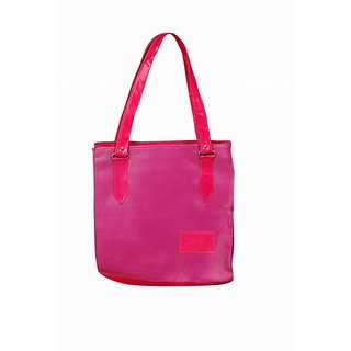 Akash Ganga Pink Beautiful Shoulder Bag (LHB48)