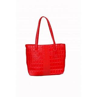 Akash Ganga  Red Women Hand Bag (LHB51)