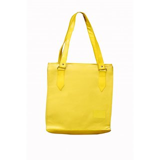 Akash Ganga Yellow Women Hand Bag (LHB54)