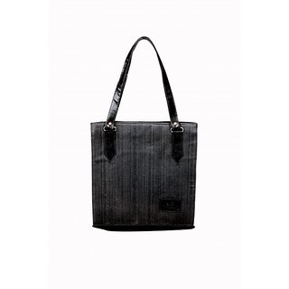 Akash Ganga Black Party Look Women Hand Bag (LHB57)