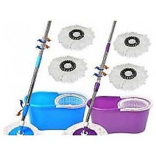 Easy Mop 360 roted easy to clean ur home with1 CLEANING GLOVES