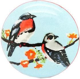 BIRDS COUPLE CERAMIC KNOB (PACK OF 4)