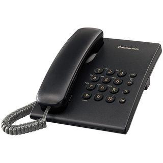 Panasonic KXTS-500MX Telephone Set with Volume Control Option - Black