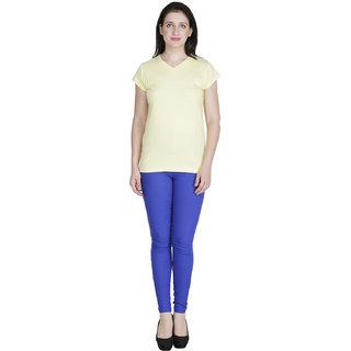 RAMPWALK Yellow  Petite Wonder V-necked Beauty S size