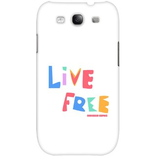 The Fappy Store Live-Free hard plastic back case cover for Samsung Galaxy S3