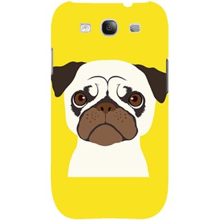 The Fappy Store Pug Hard Plastic Back Case Cover For Samsung Galaxy S3