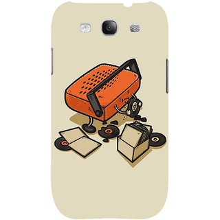 The Fappy Store Record-Eater Hard Plastic Back Case Cover For Samsung Galaxy S3