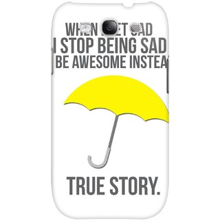 The Fappy Store True-Story Hard Plastic Back Case Cover For Samsung Galaxy S3