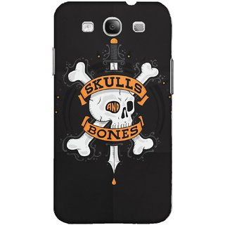 The Fappy Store SKULLS-AND-BONES Plastic Back Case Cover For Samsung Galaxy S3