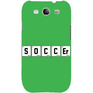 The Fappy Store soccer-elementHard Plastic Back Case Cover For Samsung Galaxy S3
