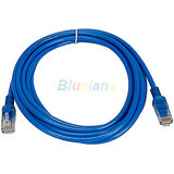 Ethernet Patch Cord CAT5 RJ45 Lan Straight Cable Category 5E 5M 5 Meter.