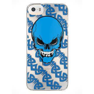 MoArmouz Blue iPhone 5S Hard Plastic Casing