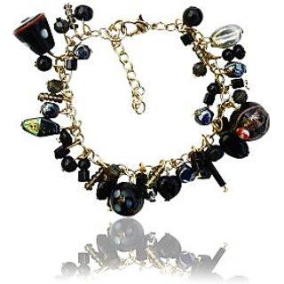 Beadworks Black Bracelet For Women
