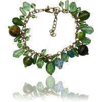 Beadworks Green Bracelet For Women
