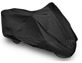 Universal Size Bike Body Cover (Black) (Get Ball Pen as Freebie)
