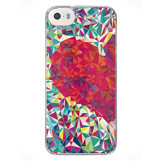 MoArmouz Abstract Design Three Dimension Figures – Cover for iPhone 5S
