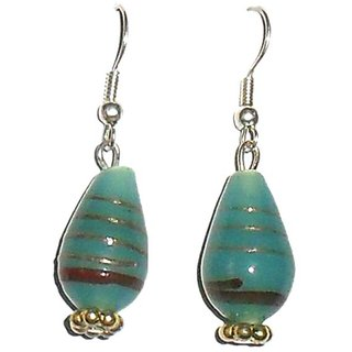 Beadworks Lampwork Beaded Earrings