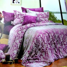 Mafatlal Baltic Cotton Double Bedsheet with 2 Pillow Covers