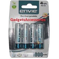 4pcs ENVIE 2800mAh Ni-MH Rechargeable AA Battery Cell