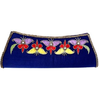 Beadworks Zari Clutch Purse